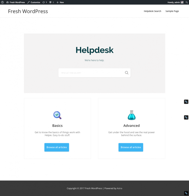 Helpie-knowledge-base-with-astra-theme