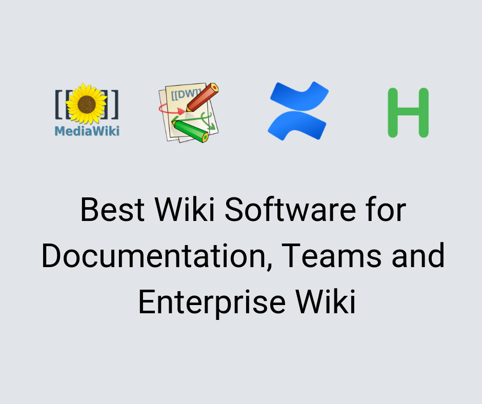 5 of the Best Wiki Software in 2019 - FREE AND PAID (UPDATED