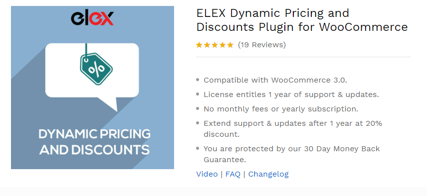 115f11ecafc4 Key Features of Elex Dynamic Pricing and Discount plugin for Woocommerce: