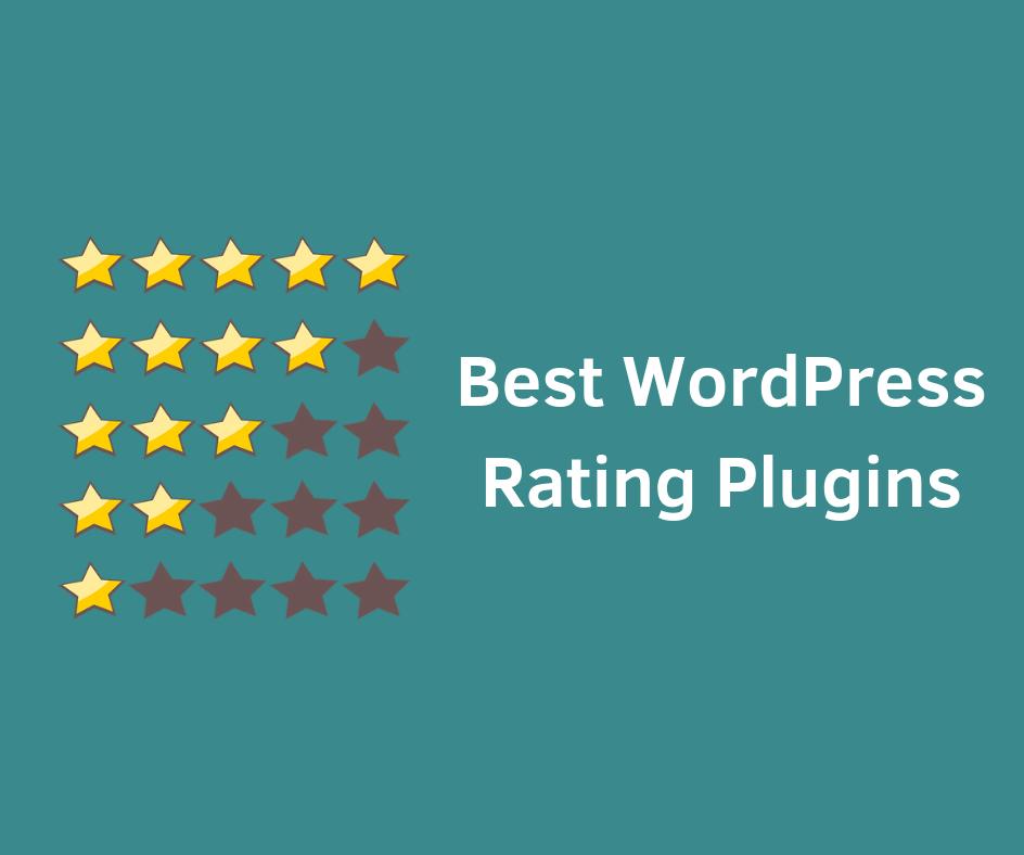 6 Best Rating WordPress Plugins 2019 - HelpieWP - Helpie WP