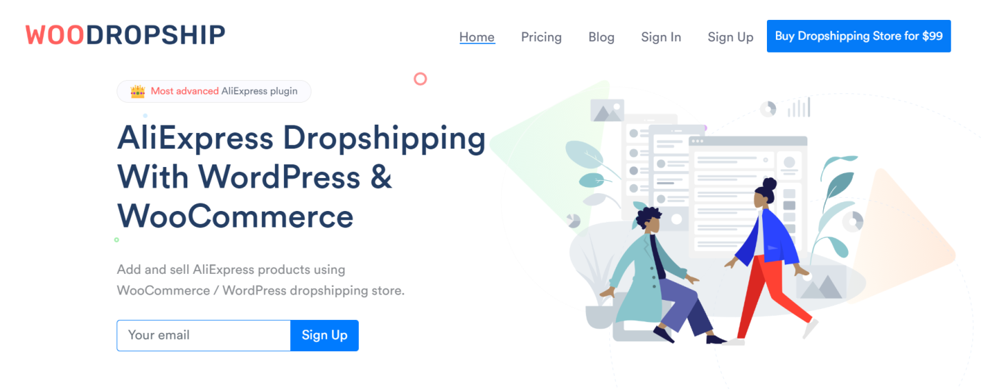 Buy Aliexpress Dropshipping Store For 99 Woodropship