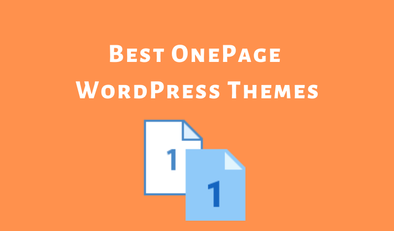 Best Free Wordpress Themes 2020.10 Impressive One Page Wordpress Themes 2020 Free Paid